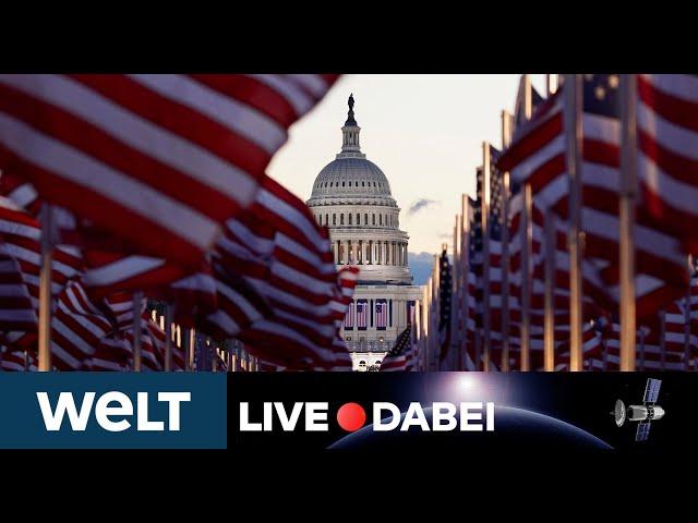 LIVE DABEI: US-Präsident Biden und Vizepräsidentin Harris werden vor dem Capitol vereidigt