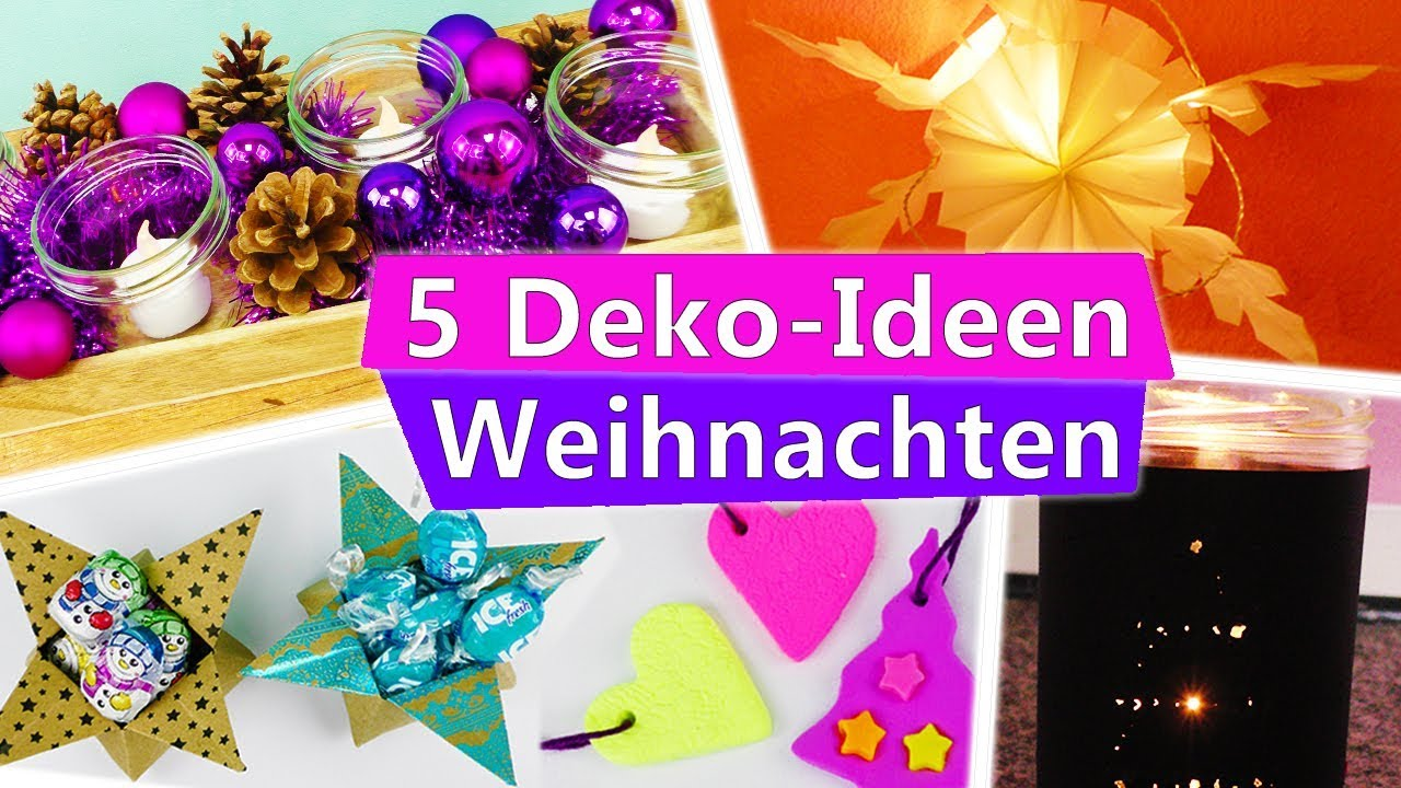 5 diy weihnachts winter deko ideen zum selber machen. Black Bedroom Furniture Sets. Home Design Ideas