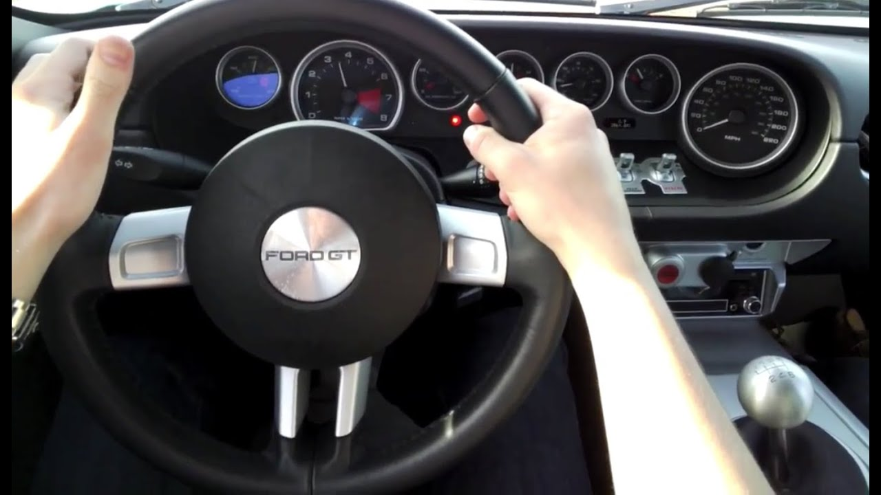 Driving A Ford Gt For The First Time Filmed By Google Glass