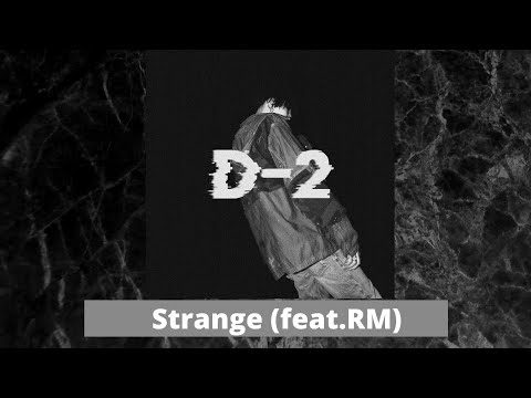 Agust D – 이상하지 않은가 (Strange) (Ft. RM) [rus sub]