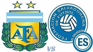 Argentina vs Salvador 2-0 All Goals & Full Highlights (Friendly Match) 28/03/2015 HD