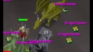 350 DRAGON BONES AN HOUR :DD