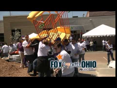 FOX Sports Ohio builds playground