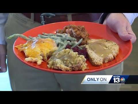 Thanksgiving feast could leave you walking off the calories for miles