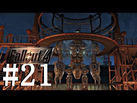 Fallout 4 [EP21] Liberty Prime, MinuteMen VS Institute, DEFEND THE CASTLE