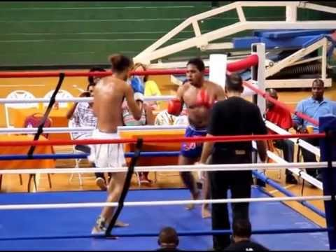 Kick boxing competition in Trinidad
