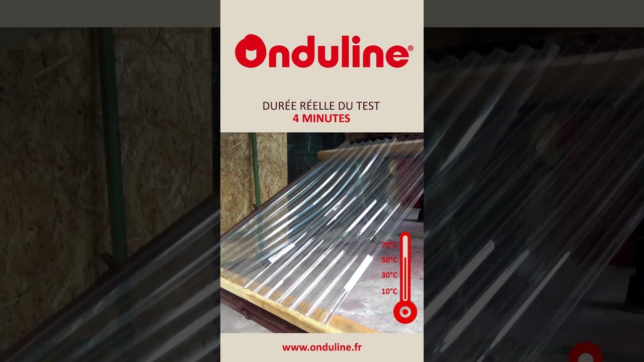 Panneau Translucide Polycarbonate Toiture Serre Onduclair Pc