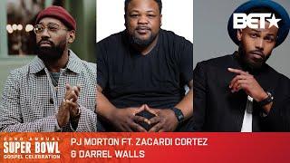 PJ Morton, Zacardi Cortez & Darrel Walls Sing