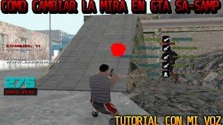 Cambiar el punto de Mira de las Armas en GTA San Andreas