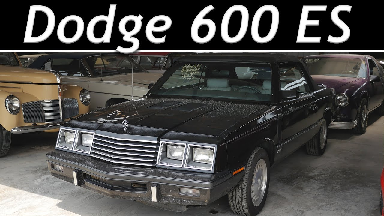 dodge  es turbo convertible  miles short   youtube
