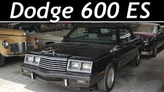 1985 Dodge 400/600 ES Turbo Convertible (53k miles) - Short Tour [4k]