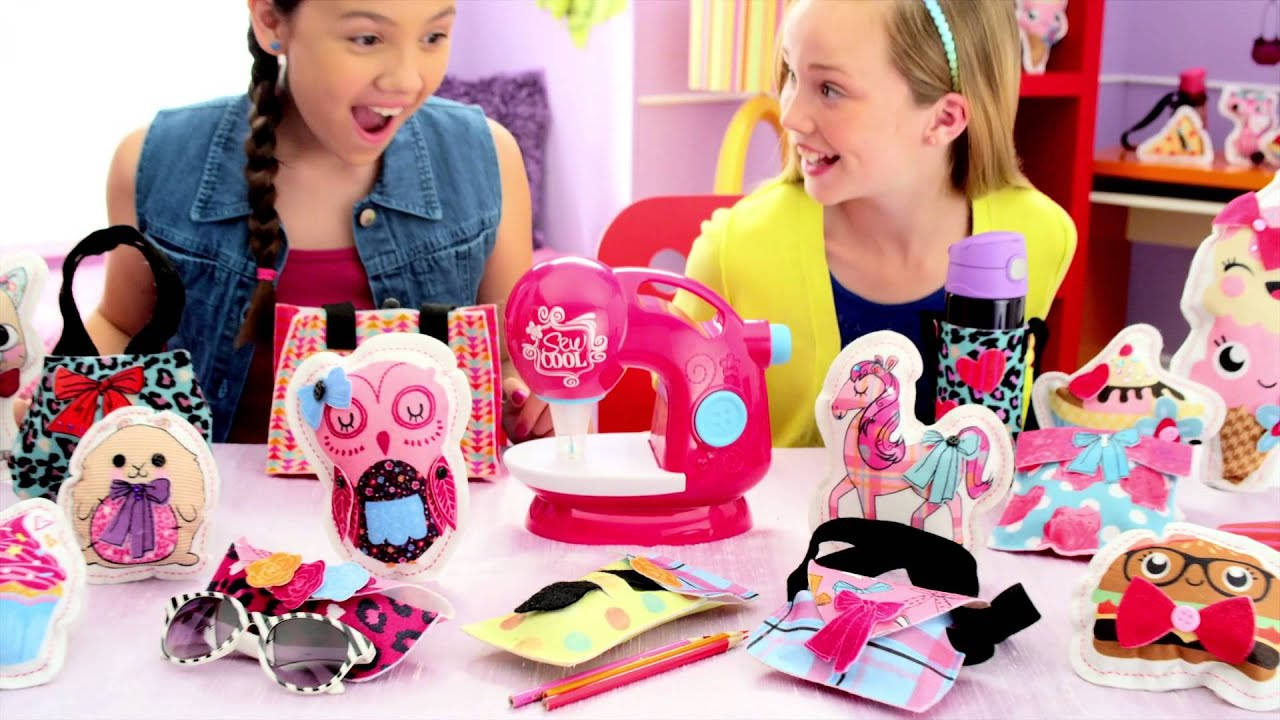 Sew cool fab new sewing machine youtube for Machine a coudre walmart