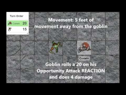 Actions in Combat: An Overview - D&D 5E Tutorial