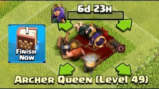 Welcome To Level 50 Queen With Book of Heroes Clash of Clans