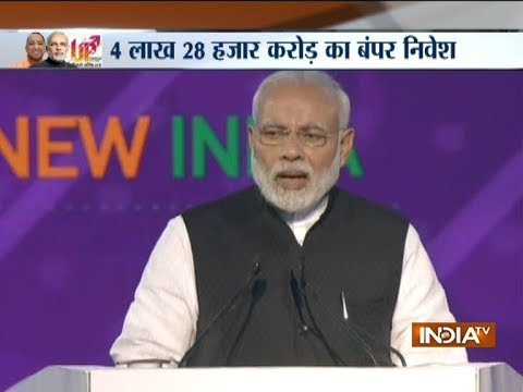 UP Investors Summit 2018: PM Modi says Yogi Govt ready for super hit performance
