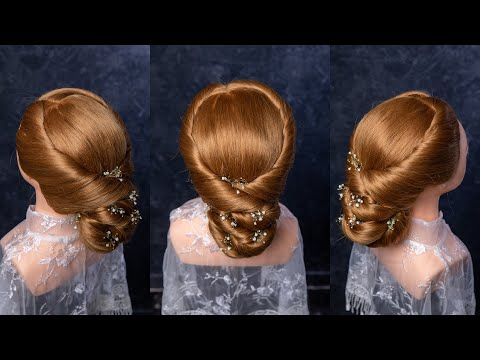 Sweet Hairstyle For Wedding, Party, Prom By The Aim Hair Studio