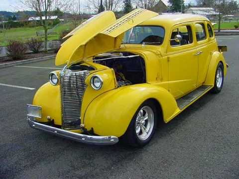 1938 Chevy Master Deluxe 4 Door Sedan - Only 1K On fresh 350 V-8 - Sold !
