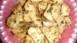 Картофель в пакете микроволновка
