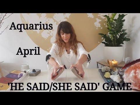AQUARIUS  - 'I'M TELLING YOU.. DON'T GIVE UP!' April Tarot Reading - 'HE SAID/SHE SAID' Game Mp3