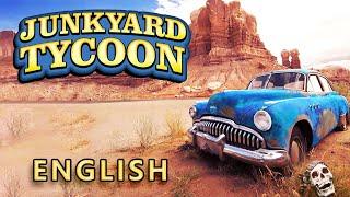 English JunkYard Tycoon - Car Business Simulation