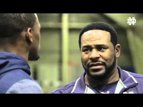SCHOOLED Jerome Bettis and CJ Prosise