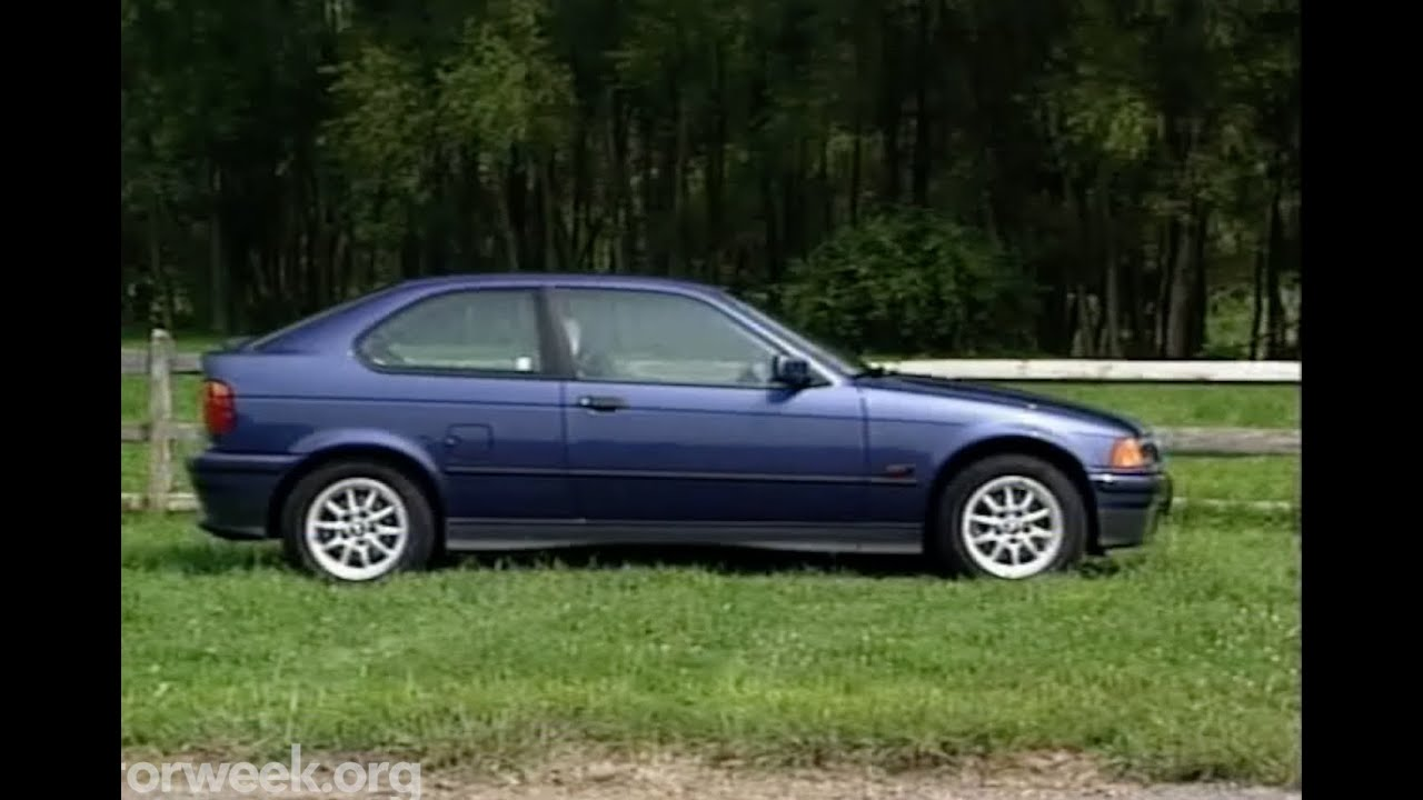 motorweek retro review 96 bmw e36 318ti coupe [ 1280 x 720 Pixel ]