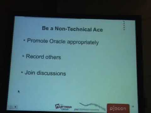 How to be an Oracle ACE or Oracle ACE director