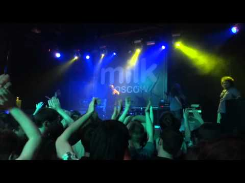 VEIL OF MAYA - Live in Moscow @Milk[20/05/2012] Part 1 of 2