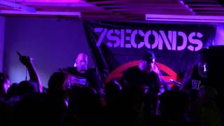 7 Seconds live Walk Together Rock Together - Aalst Belgium 06/07/2014