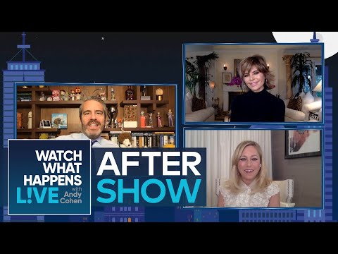 After Show: Lisa Rinna & Sutton Stracke Describe Their Homes | WWHL