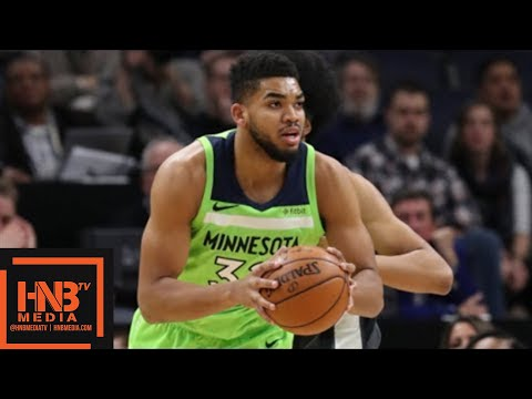 Brooklyn Nets vs Minnesota Timberwolves Full Game Highlights / Jan 27 / 2017-18 NBA Season