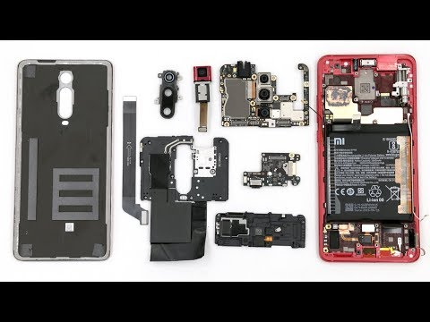 Разбираем смартфон Redmi K20 Pro Teardown Smartphone