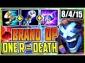 BRAND IS WAY TOO OP! ONE R CAN INSTANT KILL EVERYONE EASILY! LoL Brand Build Season 9 Gameplay