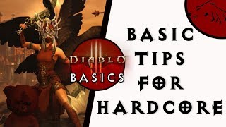 Diablo 3 Basics - Hardcore Diablo 3 Basic Tips