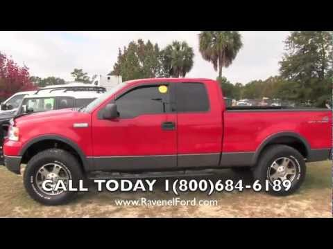2004 ford f 150 fx4 supercab 4x4 review charleston truck. Black Bedroom Furniture Sets. Home Design Ideas