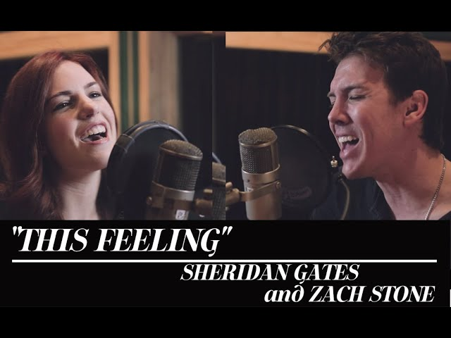 This Feeling - The Chainsmokers ft. Kelsea Ballerini (Cover by Sheridan Gates & Zach Stone)