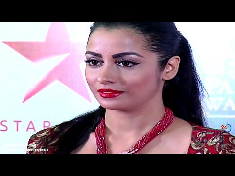 Tu Sooraj Main Saanjh Piyaji's Palomi  Showing Assets at Red Carpet of Star Parivaar Awards