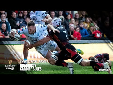 Guinness PRO14 Round 6 Highlights: Dragons V Cardiff Blues