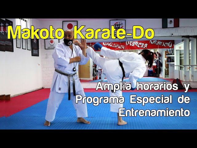 Makoto Karate-Do amplía horarios de clases con programa especial de entrenamiento