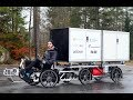 Armadillo cargo bike with fuel cell, 300 km range