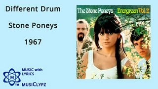 Different Drum - Stone Poneys 1967 HQ Lyrics MusiClypz