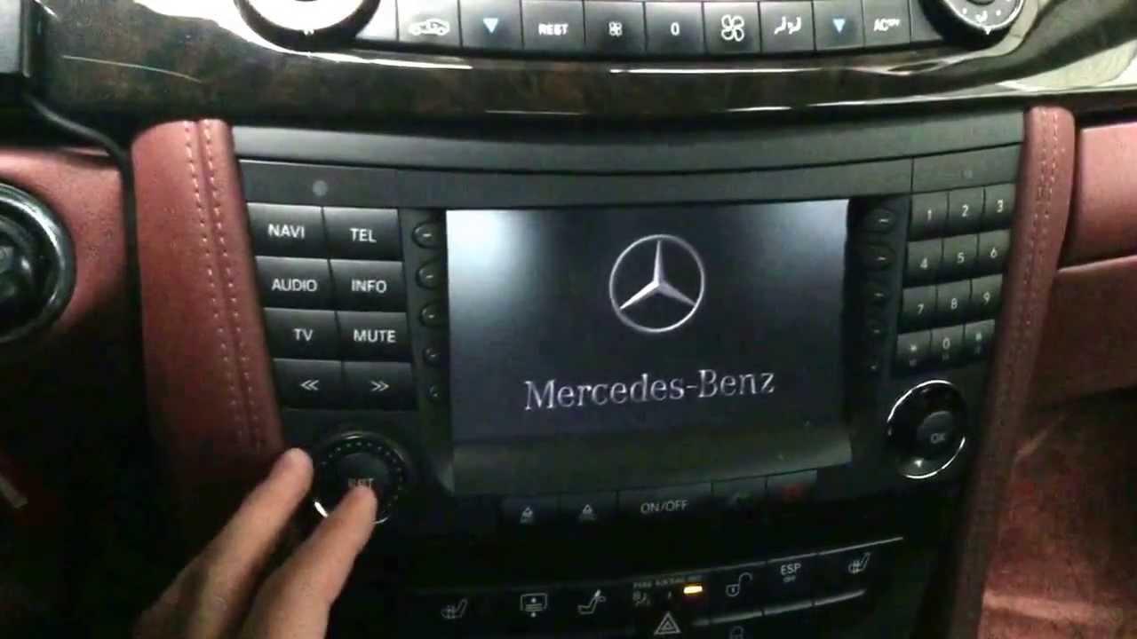 W219 W211 Cls Command ベンツ裏コマンド Mercedes Benz Youtube