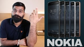 NOKIA is doing it all WRONG??? My Opinions on Nokia 3,5,6,7,8,9!!!