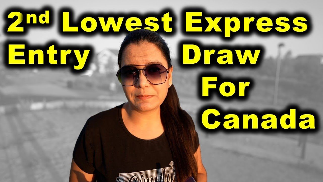 Canada Immigration News | 2nd Lowest CRS Express Entry Draw | Canada Couple