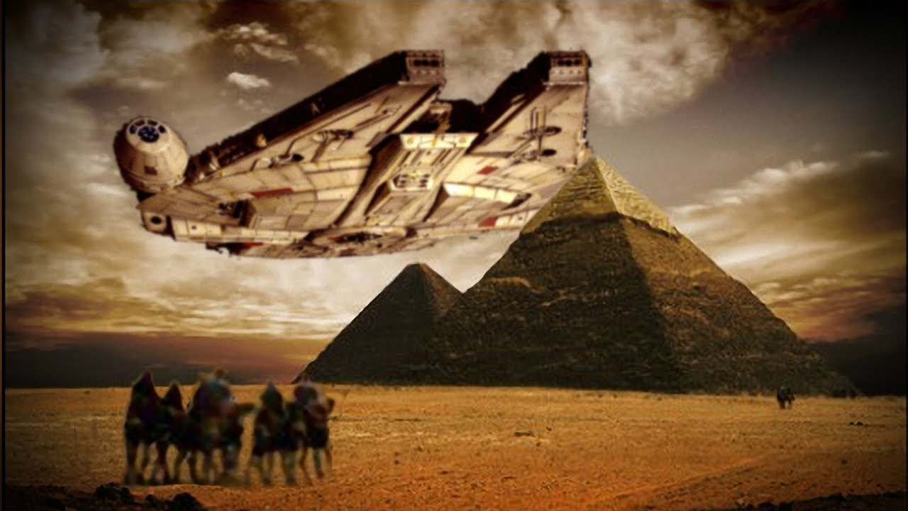 aliens built the pyramids essay