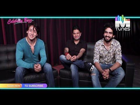 """Tiger Shroff, Bhushan Kumar & Amaal Mallik on """"Zindagi Aa Raha Hoon Main"""""""