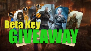 GIVEAWAY : 1000 Gwent Closed Beta Keys