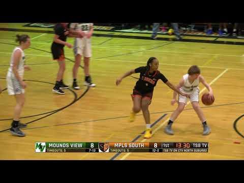 High School Girls Basketball: Mounds View vs. Minneapolis South