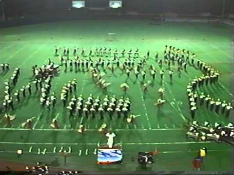 Westerville North High School Marching Band 1996 State Finals