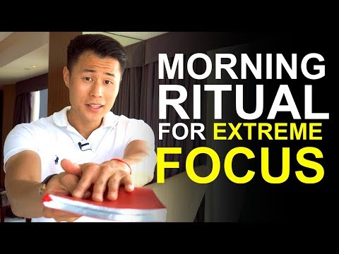 My Morning Ritual For Extreme Focus, Discipline And Success